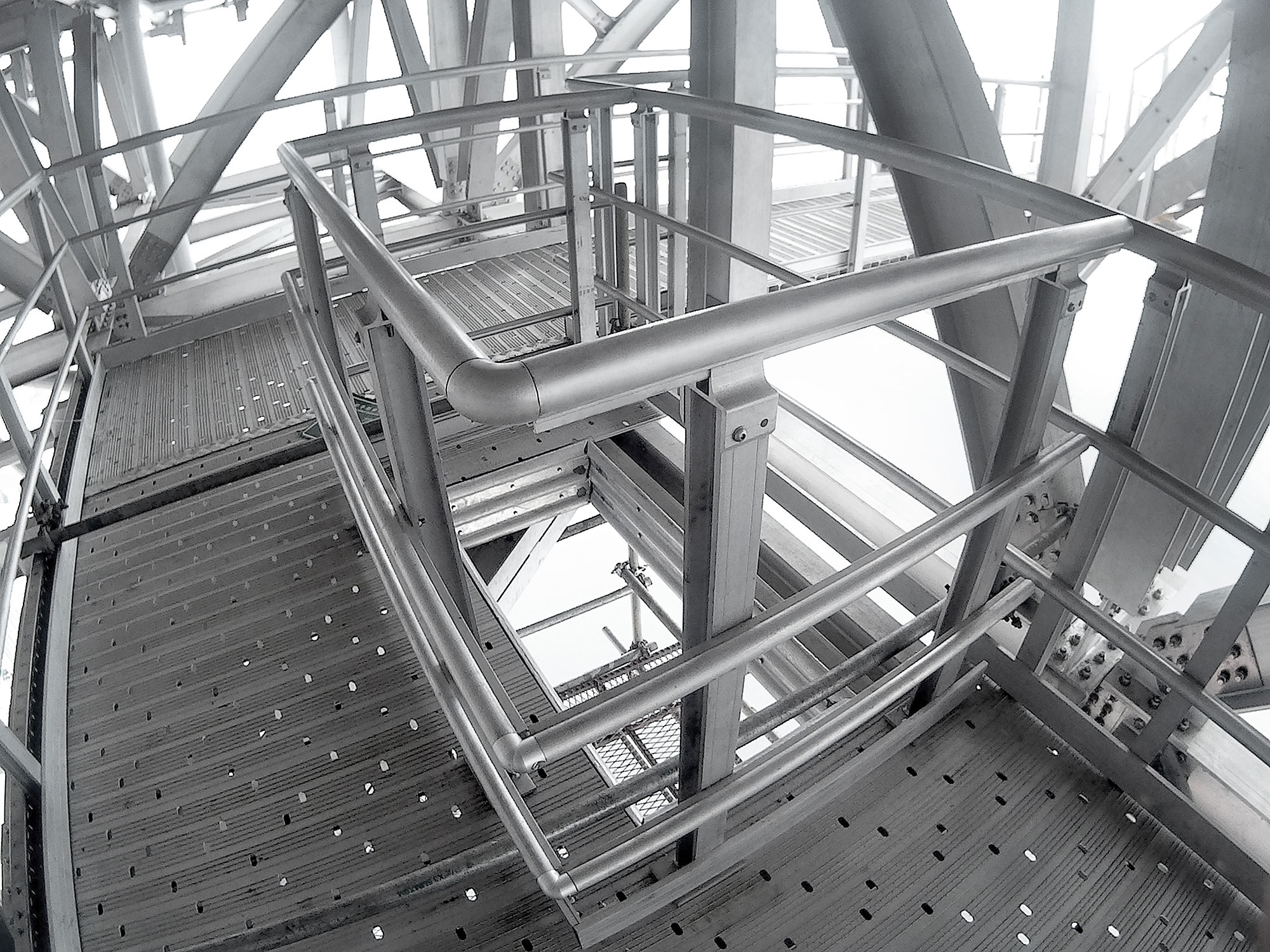 Quicklock And Handrail System On COSL HYSY943 Project