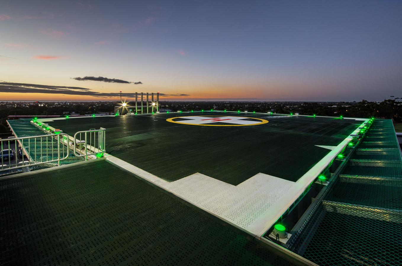 Hospital Rooftop Helipad For Flinders Centre For Innovation In Cancer (FCIC)