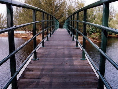 Brunei Anduki Park Bridge – Railing Aesthetics To Blend With Surrounding.