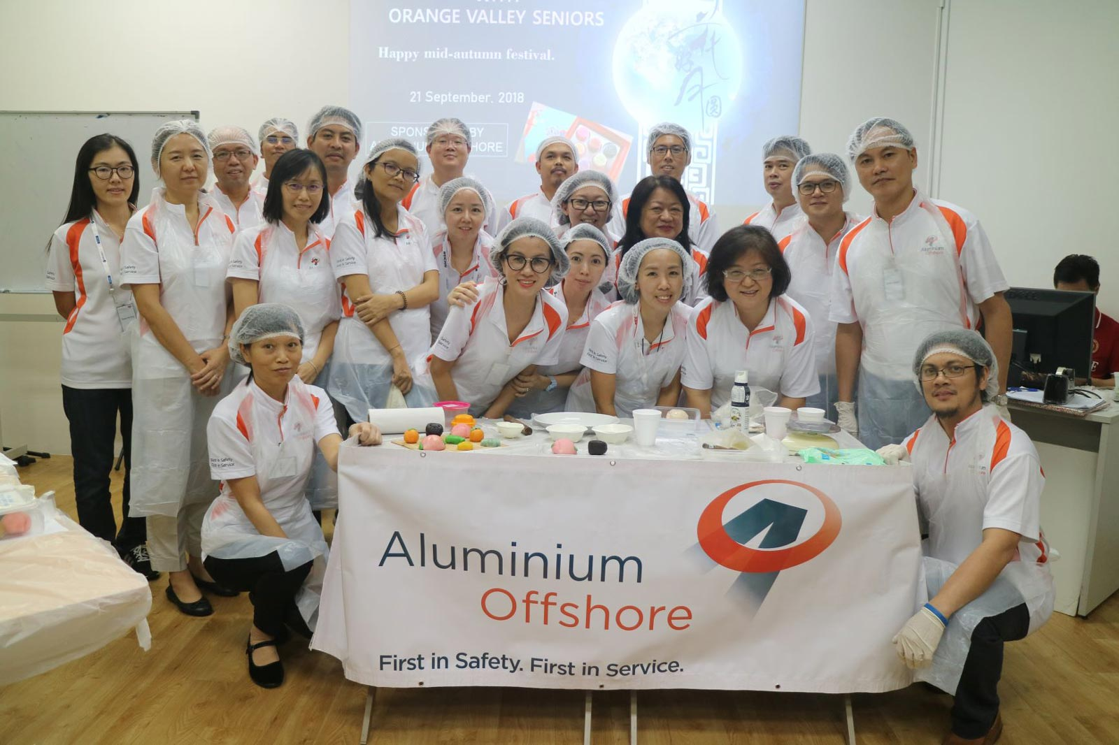 Mid-Autumn Snow Skin Mooncake Making With Seniors From RSVP's Enriching Lives Of Seniors Programme (ELSP)