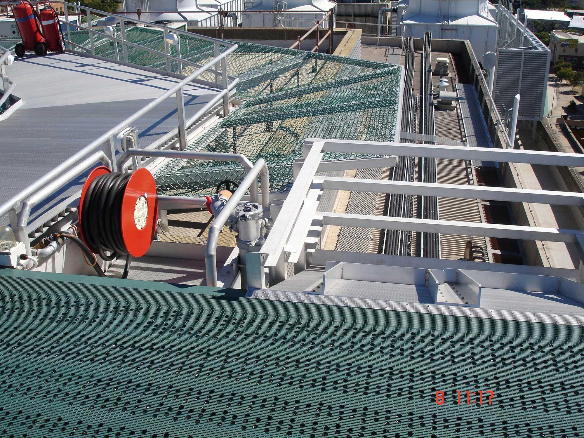 Mater Hospital Enhanced Safety Deck, Brisbane Australia