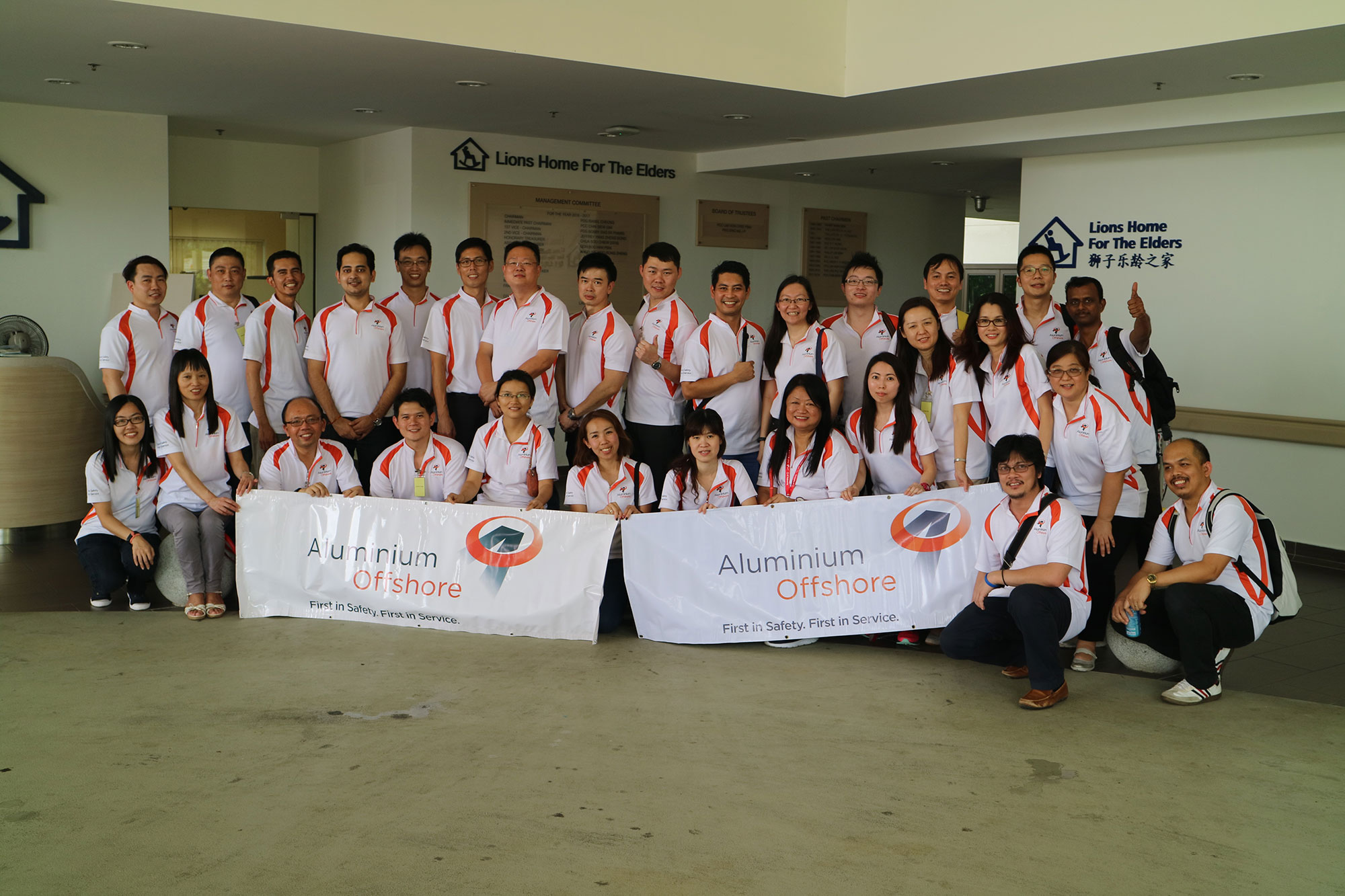 Aluminium Offshore CSR Programme – Visit To Bishan Lions Home For The Elders