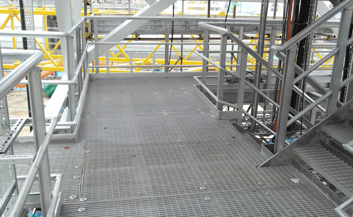 Quicklock Modular Handrails And Decking System On The Ekofisk Project