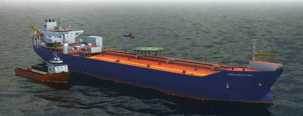 Aluminium Offshore Signs Contract For Gina Krog FSO Norway
