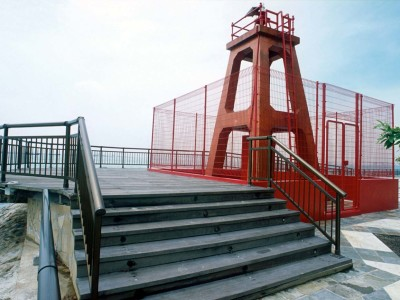 Marine Grade Aluminium Handrails For Resistance Against Sea Water Corrosion At Labrador Park