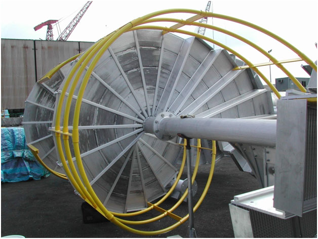 Modular Spiral Stairs For Petrobras Semisubmersible
